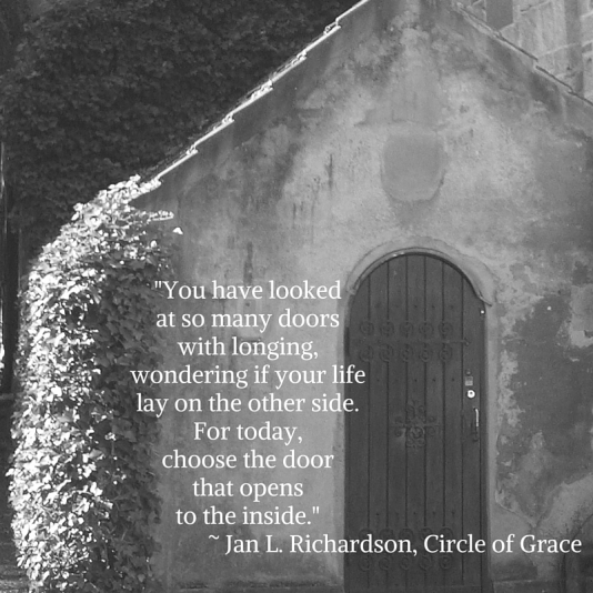 For today,choose the door